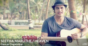Seetha Maruthe/Heaven (Cover) by Gaurav Dagaonkar Guitar Chords Featured Image